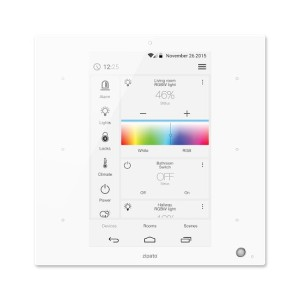 Zipatile white Zwave Plus centralna jednotka smart home